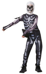 Fortnite Skull Trooper Kids Costume