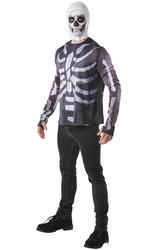 Fortnite Skull Trooper Mens Costume