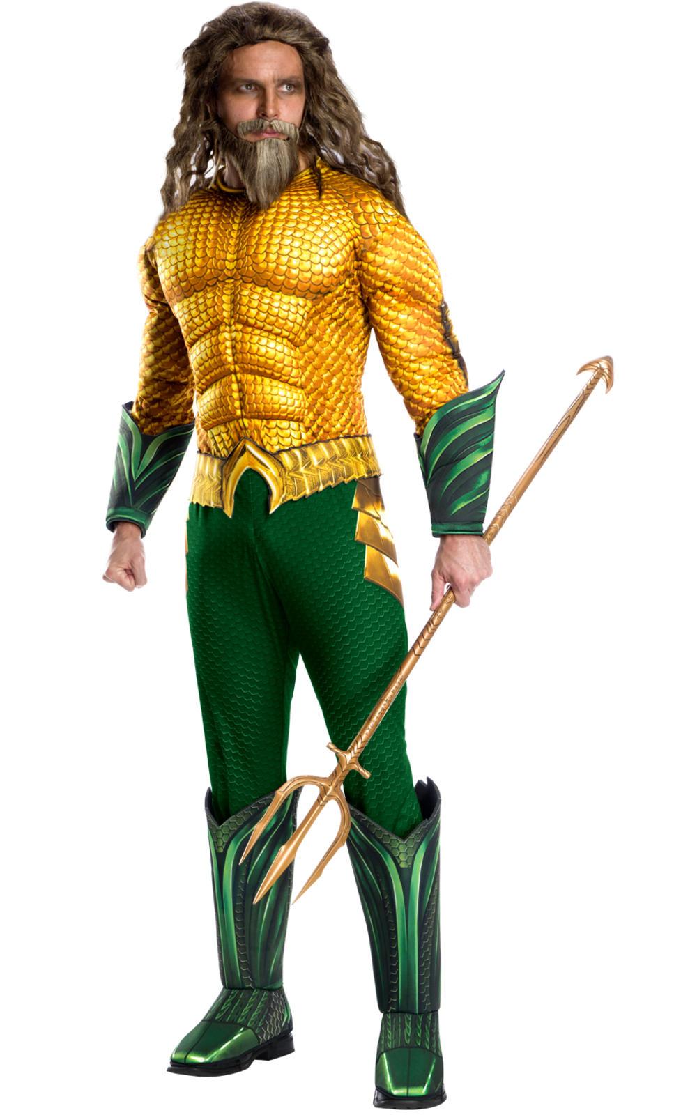 Deluxe Aquaman Mens Costume