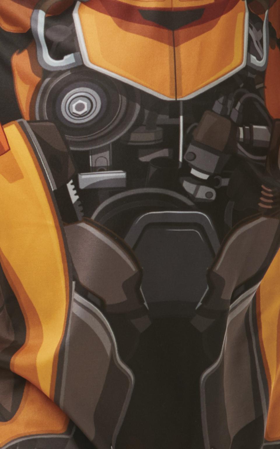 Bumblebee Boys Fancy Dress Transformers Movie Beetle Robot Kids Book Day Costume