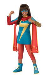 Ms Marvel Girls Costume