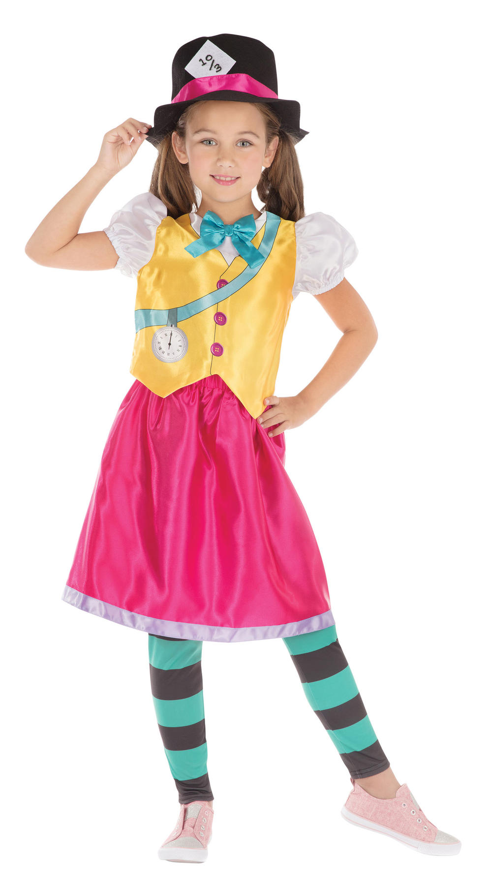 Mad Hatter Girl Costume
