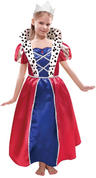 Queen Dress and Crown Costume Set