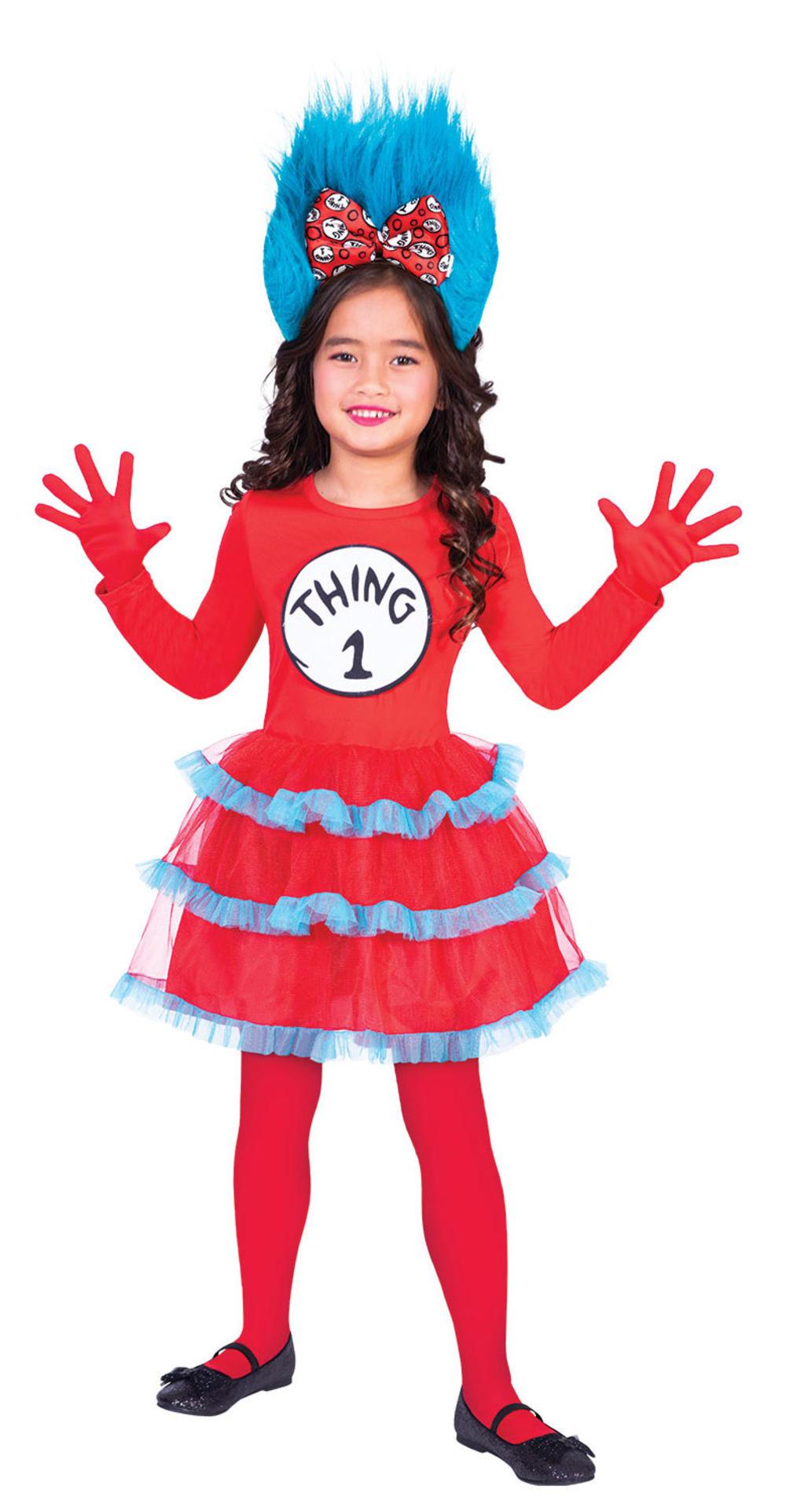 Thing One & Thing Two Girls Dress Set