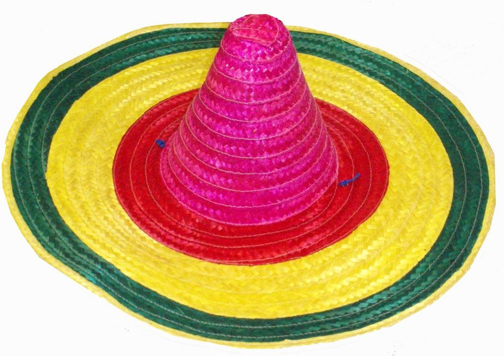 Mexican Sombrero Multicoloured Hat