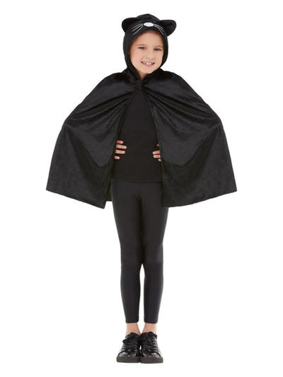 Kids Cat Hooded Cape
