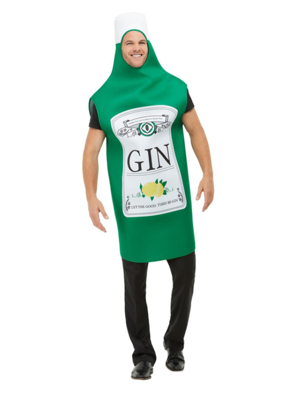 Gin Bottle Adults Costume
