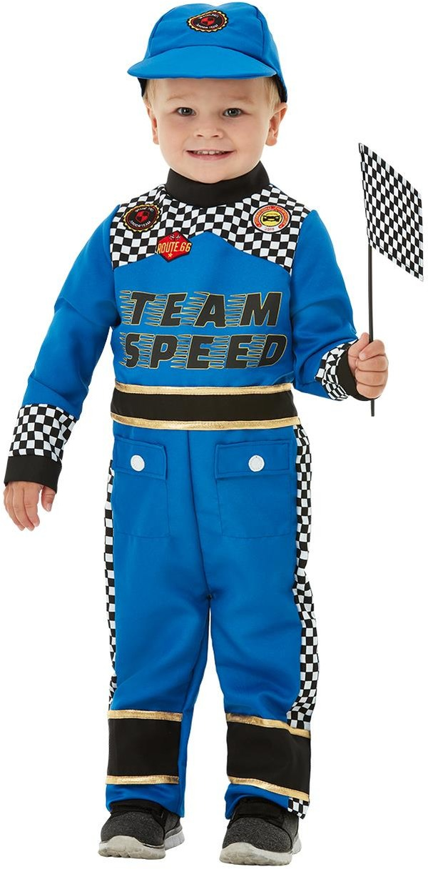 Racing Car Driver Boys Fancy Dress Formula 1 Grand Prix Overalls Kids Costume Ebay