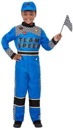 Racing Car Driver Boys Costume