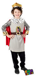 King Boys Fancy Dress Costume