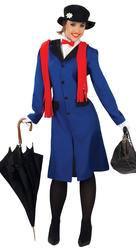 Victorian Babysitter Ladies Costume