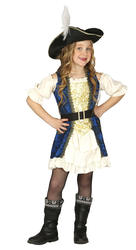 Pirate Captain Girls Costume