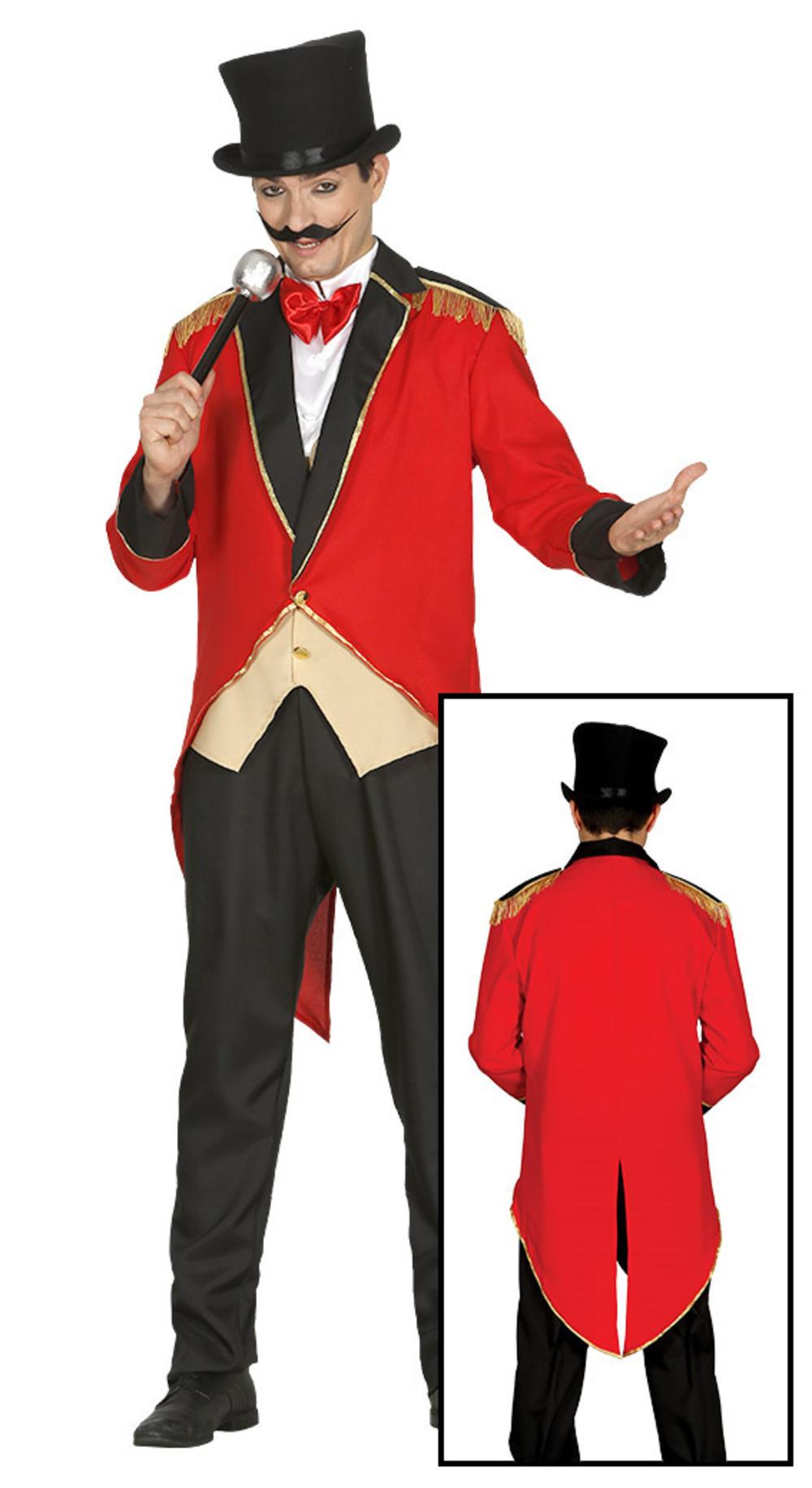 Circus Presenter Mens Costume