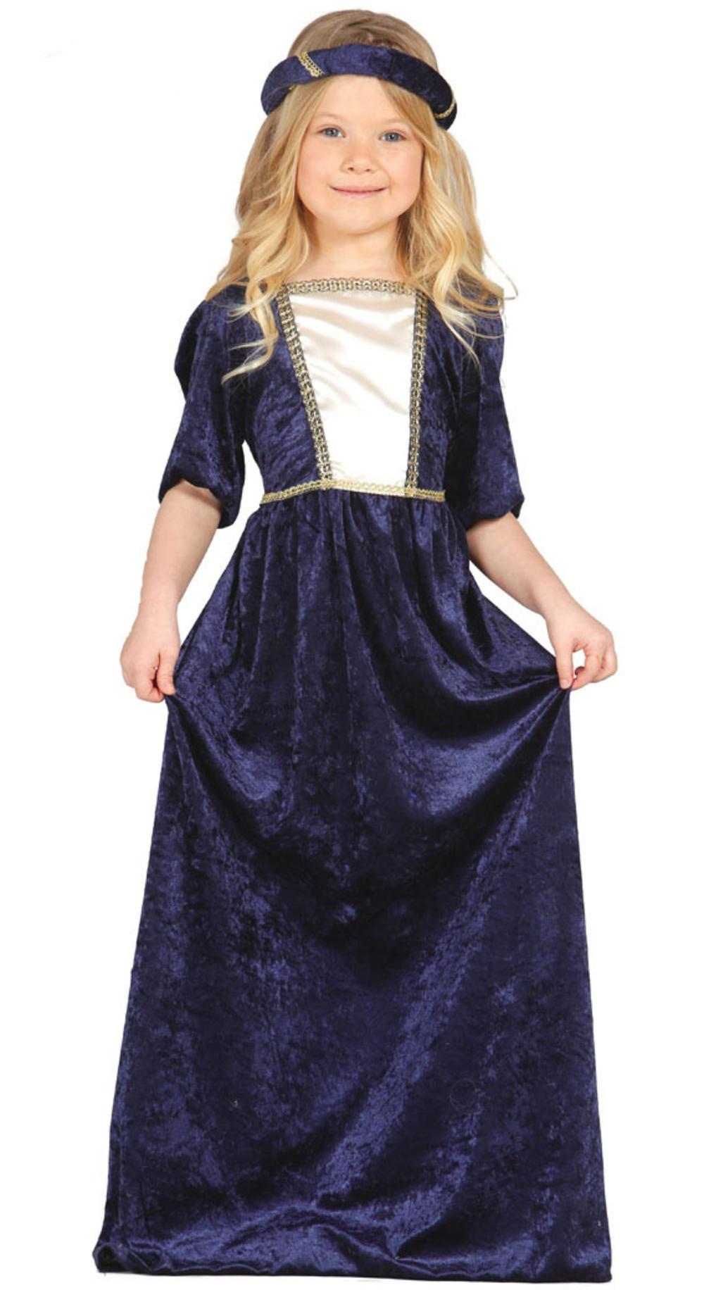 Medieval Lady Girls Costume