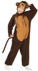 Little Monkey Kids Costume