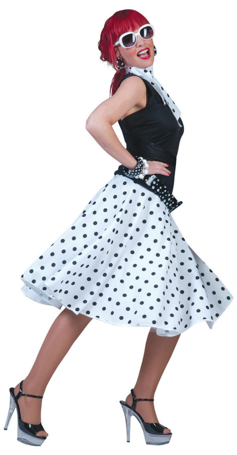 04fcb2a0ea83 50s White Rock N Roll Costume | All Ladies Costumes | Mega Fancy Dress