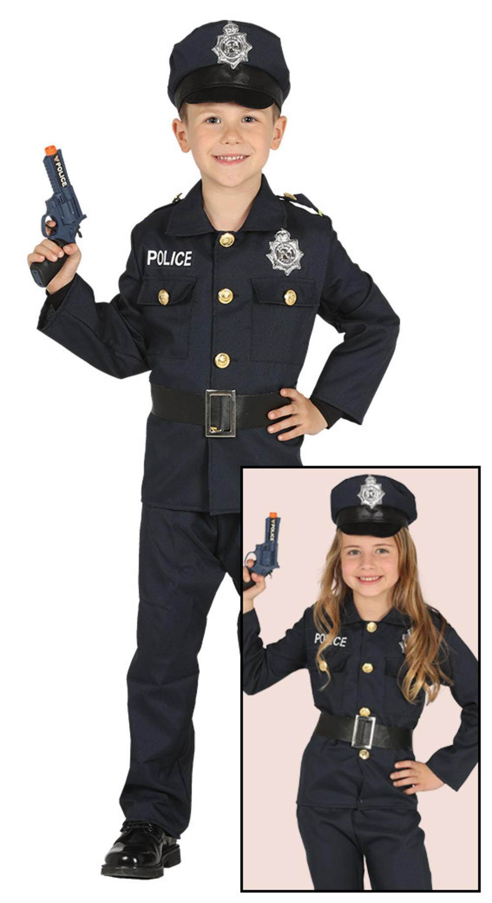 Policeman Kids Fancy Dress