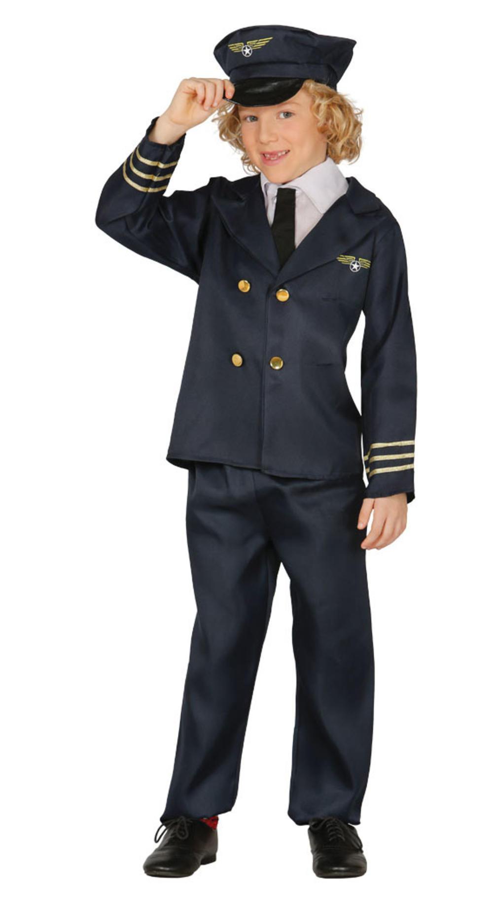 Pilot Kids Costume