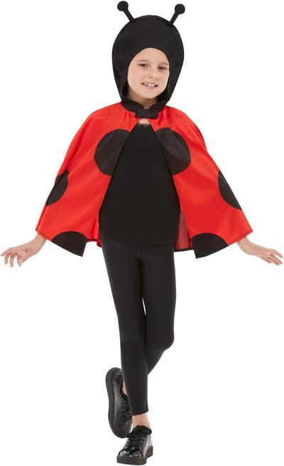 Kids Ladybird Hooded Cape