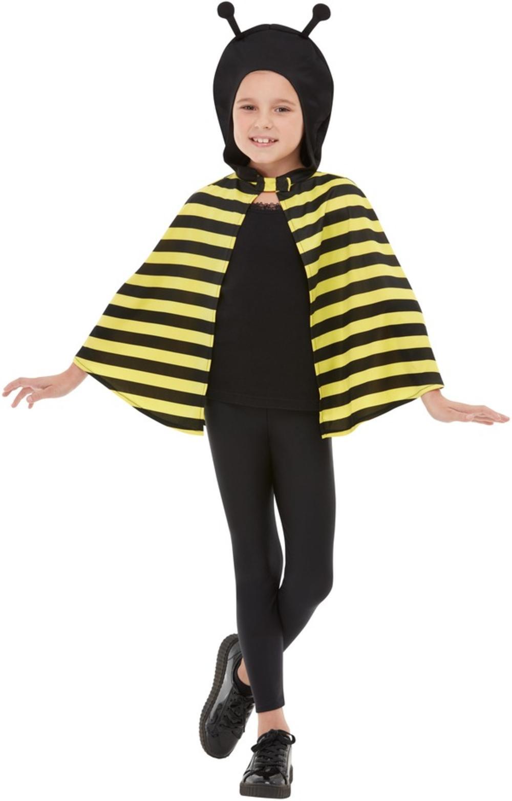 Kids Bumblebee Hooded Cape