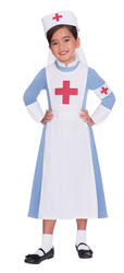 Vintage Nurse Girls Costume