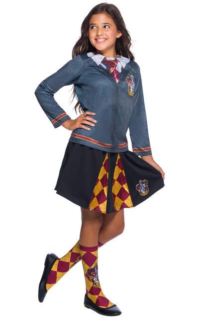 Kids Gryffindor Pleated Skirt