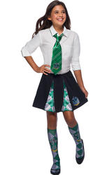 Kids Slytherin Pleated Skirt