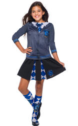 Kids Ravenclaw Pleated Skirt