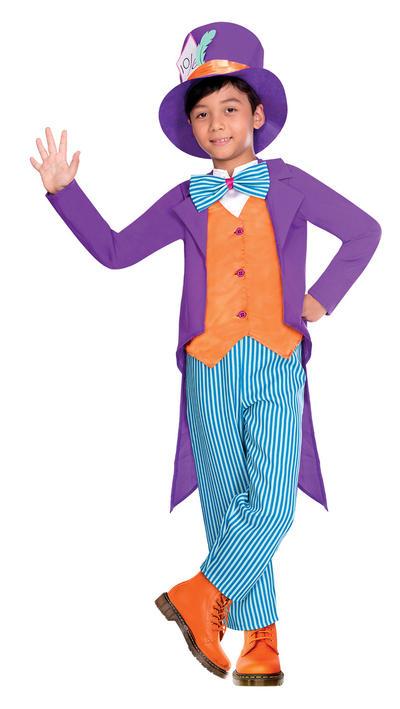Tea Party Hatter Boys Costume