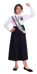Suffragette Girl Fancy Dress