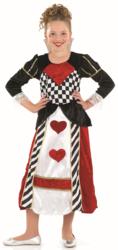Girls' Queen of Hearts Costume
