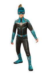 Captain Marvel Kree Suit Girls Costume