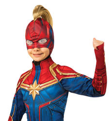 Girls Captain Marvel Headpiece