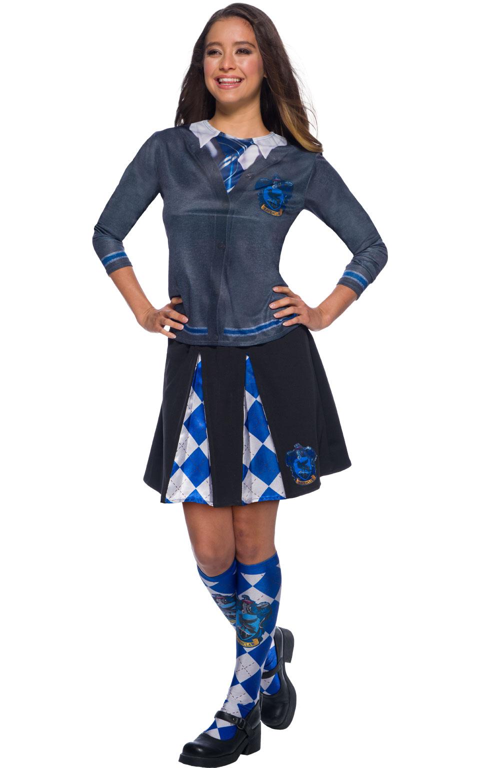 Harry Potter Skirt Ladies Fancy Dress Hogwarts Uniform