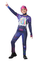 Fortnite Brite Bomber Tween Costume