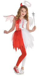 Devil Angel Girls Costume