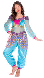 Arabian Genie Girls Costume