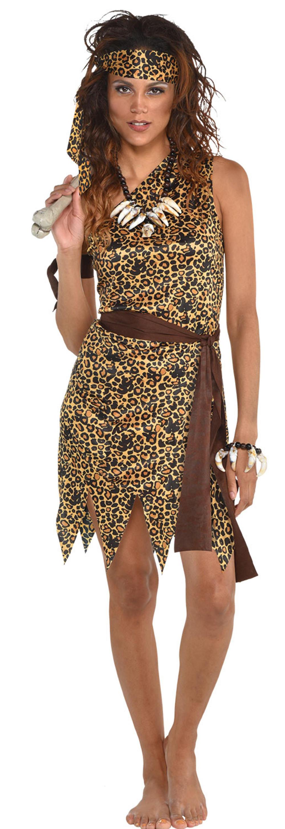 Cavewoman Ladies Costume