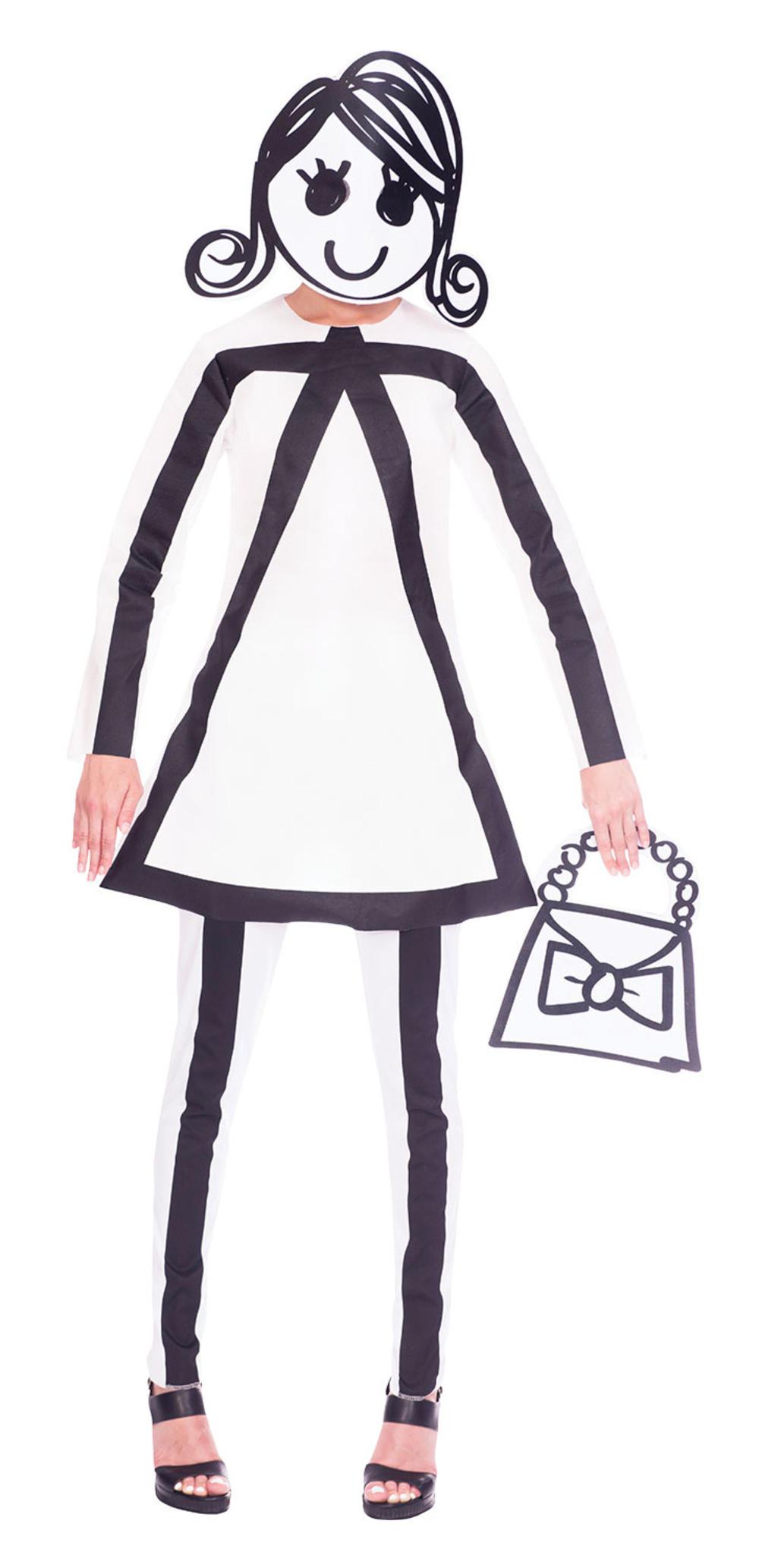 Stick Woman Ladies Costume