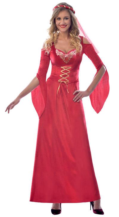 Medieval Maiden Ladies Costume