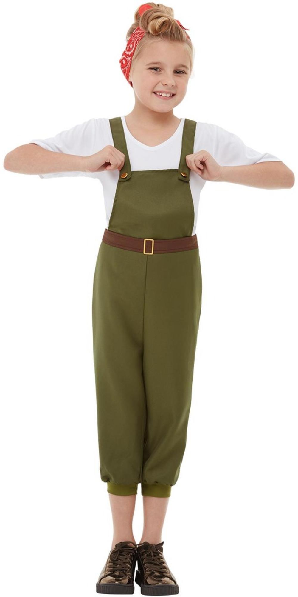 WW2 Little Land Girl Costume