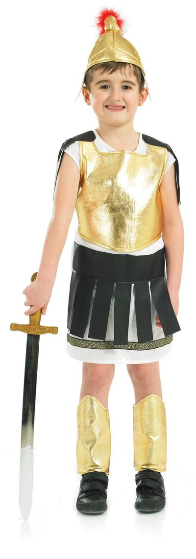 Boys Gladiator Warrior Costume