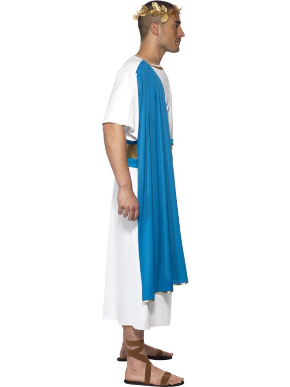 267f09091 Adult Roman Senator Costume | Adult Book Day Fancy Dress | Mega Fancy Dress