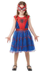 Spider-Girl Tutu Dress Girls Costume