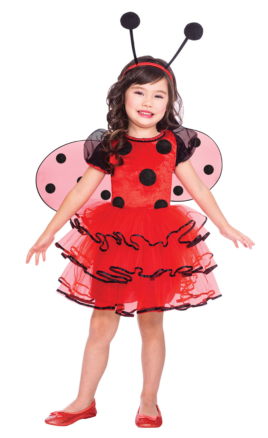 Cute Bug Girls Fancy Dress Ladybird Bumble Bee Insect Kids Animal Costume Outfit
