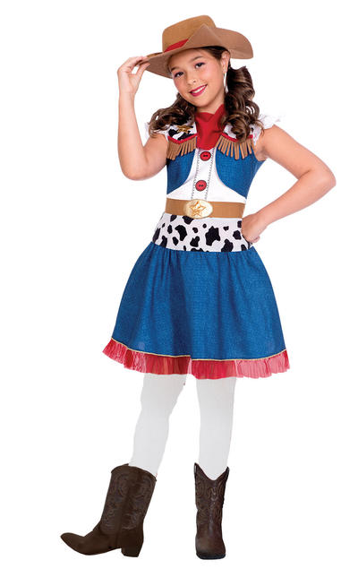 Cowgirl Cutie Girls Costume
