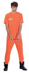 Prisoner Mens Costume