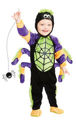 Little Spooky Spider Kids Costume