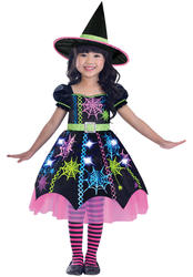 Spider Witch Girls Costume