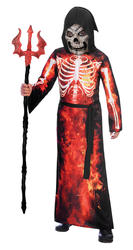 Fire Reaper Boys Costume